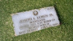 Sgt Joseph L Lemen, Jr