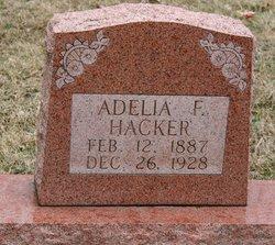 Adelia Frances <I>Hough</I> Hacker
