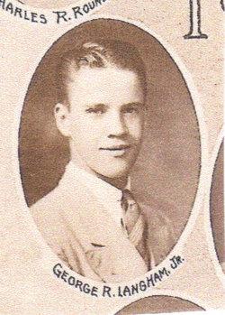 1Lt George R Langham, Jr
