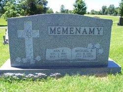 """Ann Elizabeth """"Bessie"""" <I>McAtee</I> McMenamy"""