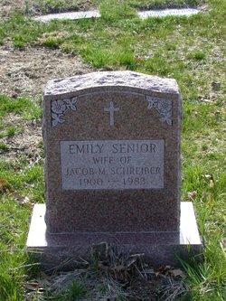 Emily <I>Senior</I> Schreiber