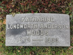 Katharine Longworth <I>Anderson</I> Woods