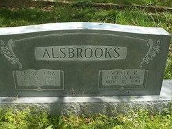 Lessie Ora <I>Aycock</I> Alsbrooks