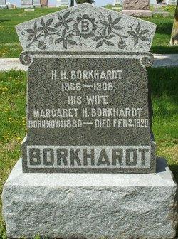 """Margaret A """"Maggie"""" <I>Klingler</I> Borkhardt"""