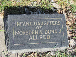 Infant Daughters Allred