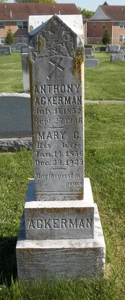Mary Catherine <I>Eckenrode</I> Ackerman