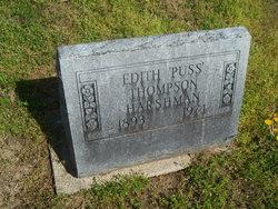 "Edith ""Puss"" <I>Thompson</I> Harshman"