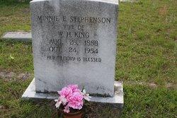 Minnie E. <I>Stephenson</I> King