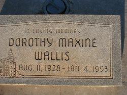 Dorothy Maxine Wallis