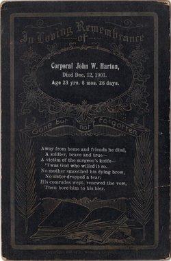 John W Harton
