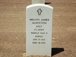Melvin James Alderton