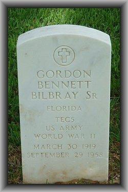 Gordon Bennett Bilbray, Sr