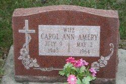 Carol Ann <I>Meyerhofer</I> Amery