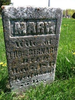 Mary <I>Hicks</I> Bernard