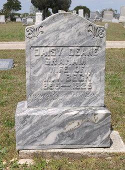 Daisy Deane <I>Graham</I> Beck