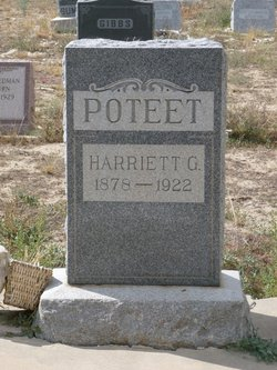 Harriet Matilda <I>Greenlee</I> Poteet