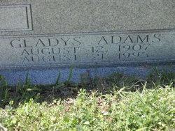 Gladys <I>Adams</I> Witmer