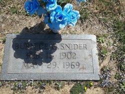 Burnice Gilbert Snider