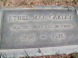 Ethel Mae <I>Longnecker</I> Cartwright Oakley