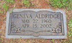 Geneva Aldridge