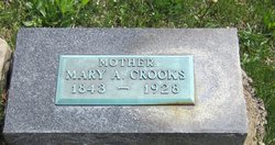 Mary Ann <I>Windon</I> Crooks