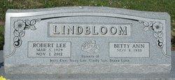 """Robert Lee """"Bob"""" Lindbloom"""