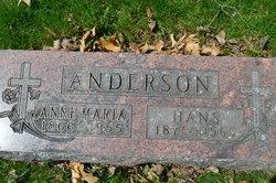 Anne Marie <I>Kammerud</I> Anderson
