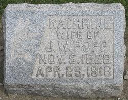 Kathrine <I>Leopold</I> Popp