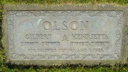 Henrietta A. <I>Halvorsen</I> Olson