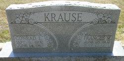 Frances Mae <I>Sedlacek</I> Krause