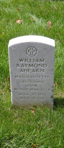 William Raymond Ahearn