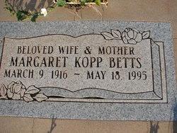 Margaret Betts