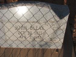 John Bleak