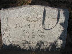 Orpha Jacobson Boles