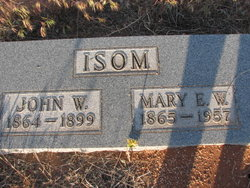 Mary Emma <I>Wright</I> Isom