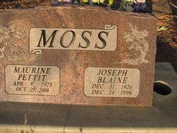 Joseph Blaine Moss