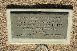 Raymond O Culver