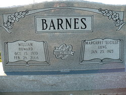 Margaret Lucille <I>Long</I> Barnes