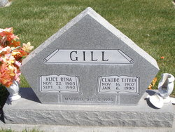 Alice Rena <I>Thayer</I> Gill