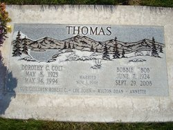 Dorothy C. <I>Colt</I> Thomas