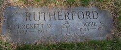 David Crockett Rutherford