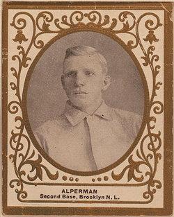 "Charles Augustus ""Whitey"" Alperman"