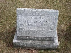 D. Helen Adams