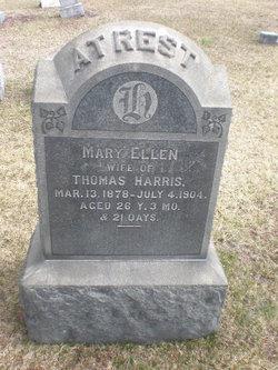 Mary Ellen <I>Lightcap</I> Harris