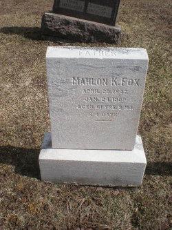 Mahlon Kilmer Fox