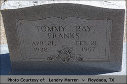 Tommy Ray Franks