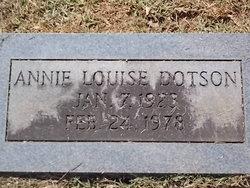Annie Louise <I>McKinney</I> Dotson