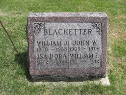William F. Blacketter