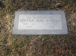 Bertha Mae <I>Ethridge</I> Angell