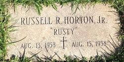 """Russell R """"Rusty"""" Horton Jr."""